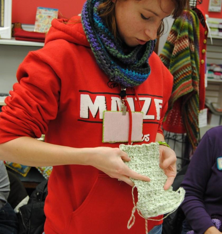 washcloth or scarf,